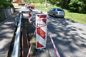 Na dlouhodobou uzavírku silnice se chystají lidé v Poříčí.