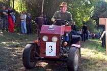 Traktor show ve Vrážném.