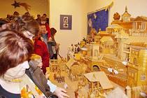 Výstava betlémů v Centru Bohuslava Martinů.