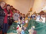 Vánoční dílny v poličském středisku volného času.