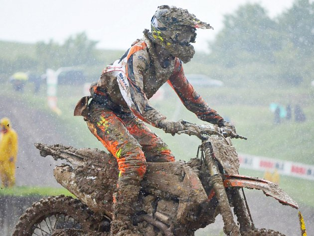 Podmínky v Sevlievu nebyly pro motokros příznivé.