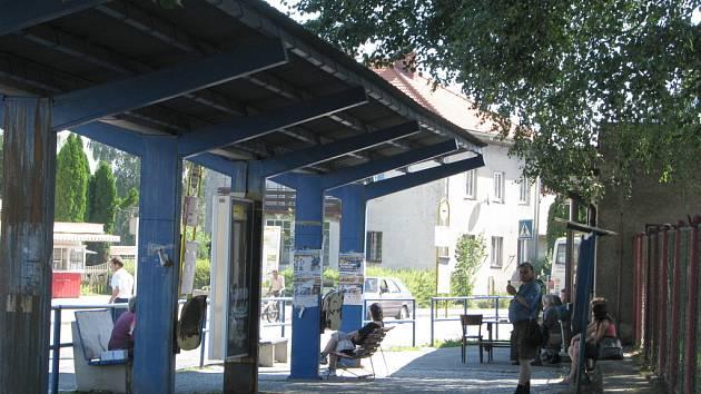 Autobusové nádraží v Poličce
