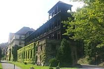 JEDEN z pavilónů jevíčského sanatoria, dnešního Odborného léčebného ústavu Jevíčko.