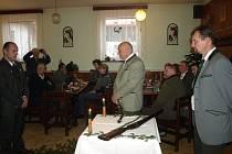 Oldřich Koudelka křtil knihu.