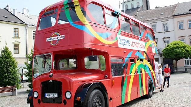 Olympijský autobus zastavil v Moravské Třebové.