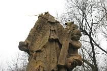 Neznámý vandal se vyřádil na vzácné památce v centru Moravské Třebové.