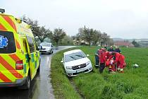 Nehoda u Sedliště.