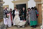Ludmila a Ladislav z Březové nad Svitavou vykročili do společného života na svátek všech zamilovaných.