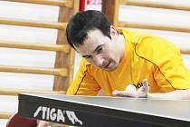 Remízu by Borovští (na snímku Jan Vrba) po utkání s Brňany brali všemi deseti. To by ovšem museli podat o poznání vyrovnanější výkon. Výpadek dvou hráčů je v první lize nenahraditelný.
