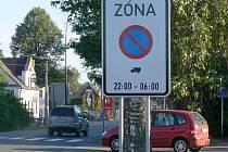 Zóna s omezeným stáním ve Svitavách působí řidičům nákladních automobilů problémy.