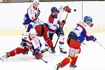 HC Litomyšl vs. HC Kohouti Česká Třebová, 2. semifinále Poháru Vladimíra Martince.