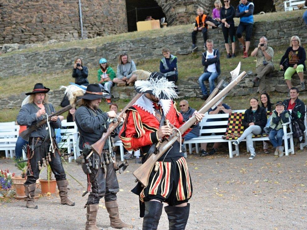 Svatováclavské slavnosti na hradě Svojanov