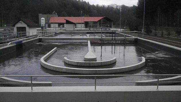 Čističku odpadních vod na okraji Linhartic čeká dezodorizace. Pokud se městu podaří získat dotaci.