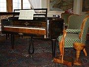 Na tento nástroj mohl kdysi hrát Bedřich Smetana