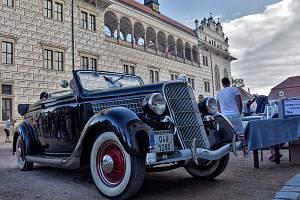 Vzpomínková jízda na Elišku a Čeňka Junkovy v Litomyšli v roce 2018