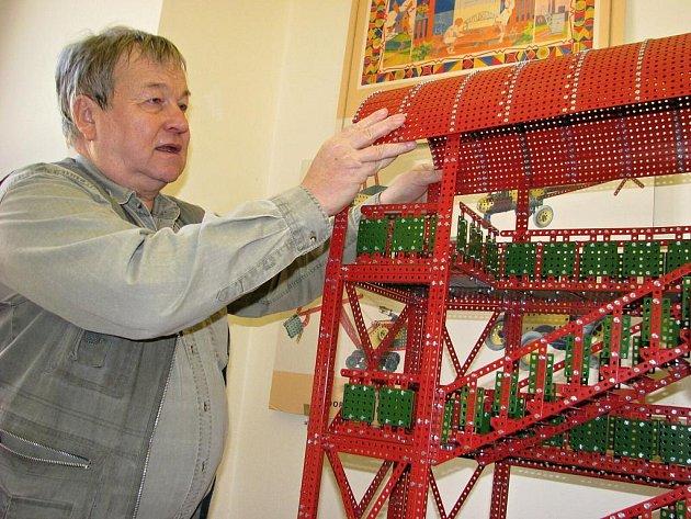 Až v prosinci končí výstava věnovaná stavebnici Merkur v Moravské Třebové.