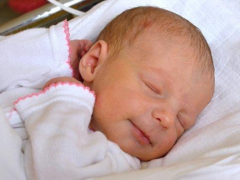 PATRICIE VOBORNÍKOVÁ. Narodila se 15. ledna Petře Hamanové a Viliamu Voborníkovi z Poličky. Měřila 50 centimetrů a vážila 2,73 kilogramu.