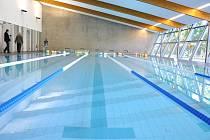 Krytý bazén v Litomyšli.