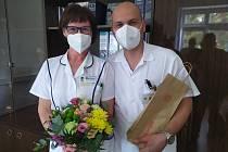 Náměstkyni pro léčebnou péči v Litomyšlské nemocnici Zdenku Fenclovou nahradil ve funkci ortoped Vít Heblt.