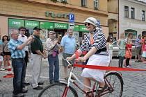 RETRO BICYKLY. Milovníci i sběratelé starých jízdních kol si přišli na své v sobotu v Poličce.
