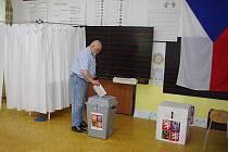 Parlamentní volby v Květné.