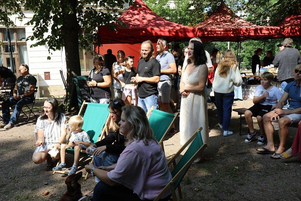 Veselice v Litomyšli a Spacák party