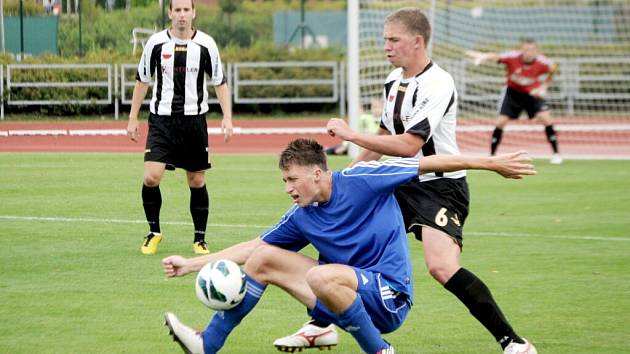 Fotbalová divize C: TJ Svitavy - SK Semily.
