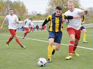 Z utkání TJ Svitavy B vs. FC Nasavrky (6:0).