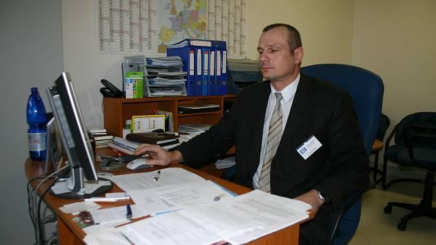Pavel Špaček, ekonomický náměstek svitavské nemocnice.