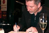 Martin Sodomka pokřtil svou třetí knihu pro děti.