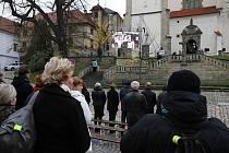 Pohřeb Františka Beneše.