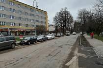 Rozbitá Svitavská ulice v Moravské Třebové se dočká celkové rekonstrukce.