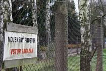 VOJENSKÝ PROSTOR. Muniční sklad v Květné má být od 1. července pod patronátem ministerstva obrany a armády.