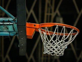 Basketbalový koš. Ilustrační foto