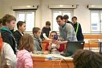 Den otevřených dveří na Gymnáziu se uskutečnil 14. února.