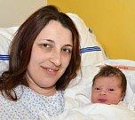 MARIANA VEJRYCHOVÁ.  Narodila se 10. dubna Zdeňce a Josefu ze Svitav. Měřila 49 centimetrů a vážila 3,1 kilogramu.