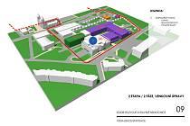Plánovaná podoba nemocnice ve Svitavách