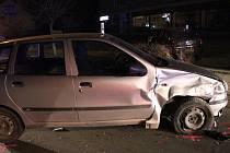 Devětačtyřicetiletý muž ze Svitavska, který havaroval v Moravské Třebové na ulici Svitavská měl v dechu tři promile.