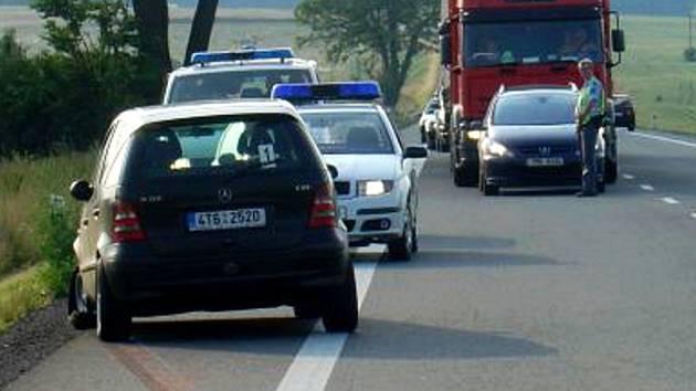 K nehodě došlo ve středu u obce Janov.
