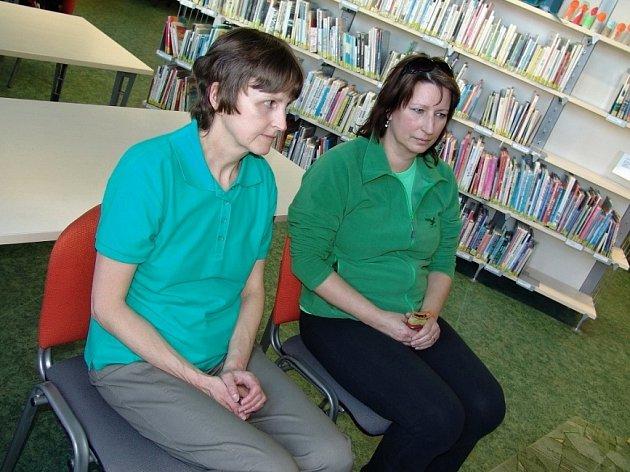 Veřejné čtení ve svitavské knihovně.