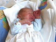 MARTIN ZACPAL. Narodil se 28. února ve 3.48 hodin ve Svitavách. Vážil 3,55 kilogramu a měřil 52 centimetrů. S rodiči Lucií a Martinem a dvouletým Patrikem bydlí ve Svitavách.