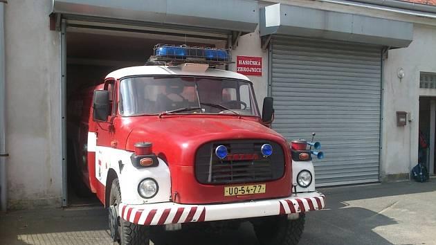 Školáci navštívili dobrovolné hasiče