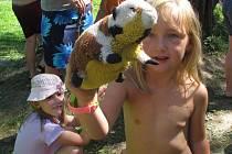 Netradiční tábor pro rodiny s dětmi se každoročně koná u Pusté Rybné