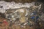 Tragická nehoda u Lezníku, při níž dva lidé zahynuli