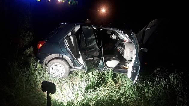 Dopravní nehoda u obce Kunčina