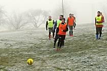 Silvestr si zpestřili v Morašicích fotbalem