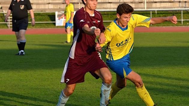 Po rozpačitém poločase se litomyšlská rezerva v utkání s Bystrým pořádně rozjela.