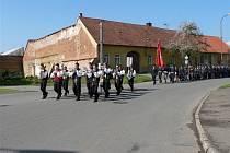 Jevíčští hasiči oslavili svátek svatého Floriána.