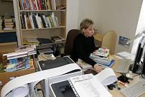 Marcela Kloudová ve Svitavách připravuje soubor knih, který poputuje do malých knihoven v okrese.