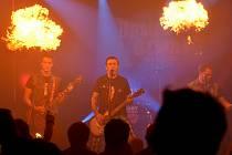 Punkový večírek kapely Upside Down.